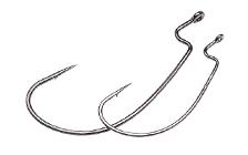 Owner/C'ultiva 5109BC J-Light Worm Hook